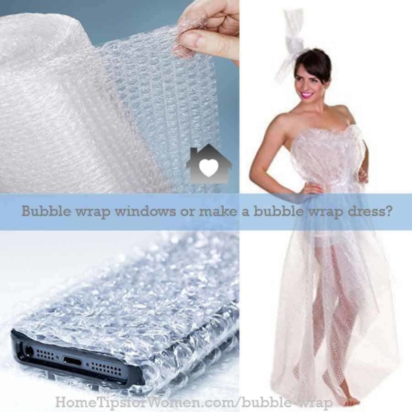 bubble wrap windows can save on heating (cooling) bills & keep you more comfortable