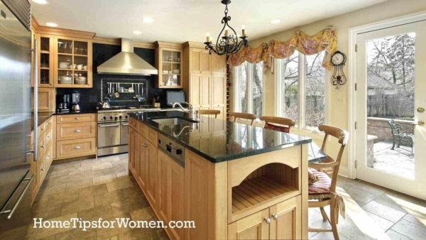 selling your home means hilighting key kitchen and bathroom features