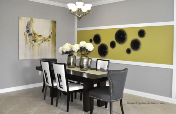 Dining Room Bold Stripes HT4W
