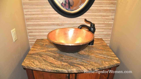 With a small bathroom remodel, you might need to go with a small vanity & sink like this one here that's almost as wide as the bathroom