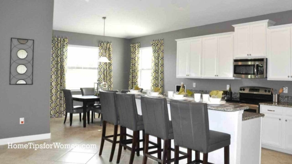 Open Concept Dining & Kitchen Renovation Ideas - Home Tips For Women