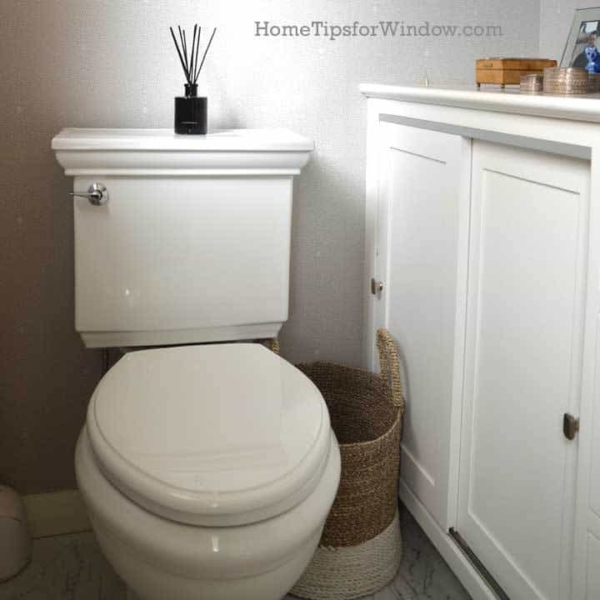 a small bathroom remodel sometimes needs a small toilet too