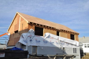 sheathing is a building material with multiple uses