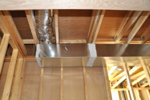 ductwork delivers warm & cool air, while hidden in your ceilings/walls