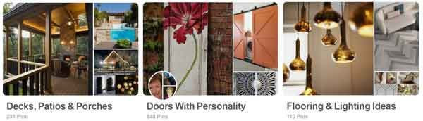 you can get lots of interior design tips using sites like Pinterest or Houzz