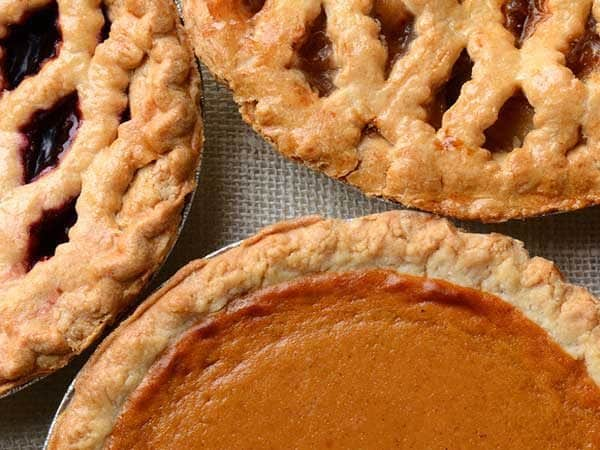 friendsgiving meals should include lots of different desserts
