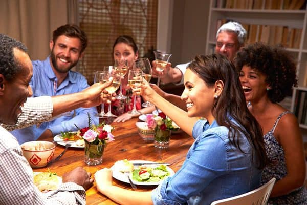 friendsgiving celebrations let you enjoy a special meal with people you pick