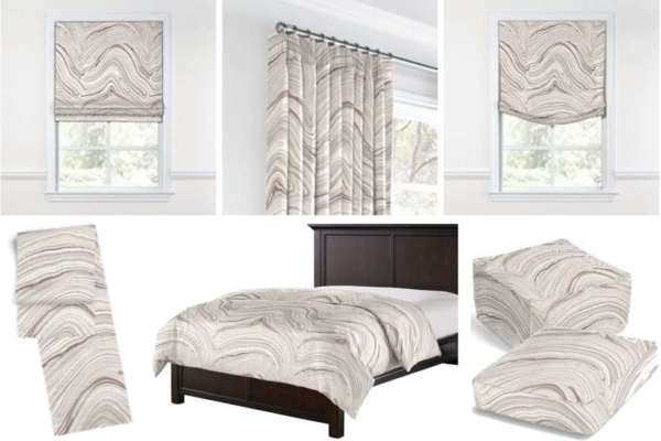 white marble texture is used to decorate many other materials