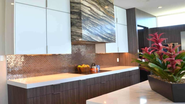 kitchens are changing & the 2016 new american home showcases some of the new trends in cabinet materials