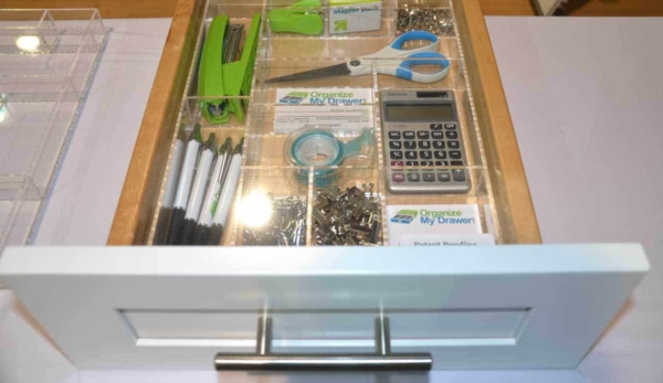 at ibs, home building products include drawer organizers