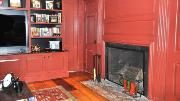 fireplace design trends today, look very little like fireplaces in historic homes in Newburyport MA