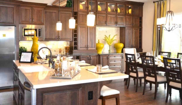 home improvement trends include more spacious kitchens
