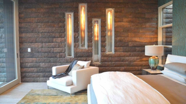 fireplace design trends include adding fireplaces into bedrooms
