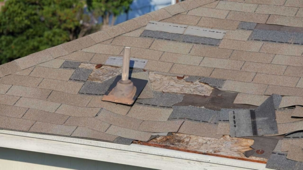 inspecting your roof helps you identify missing shingles & other problems quickly