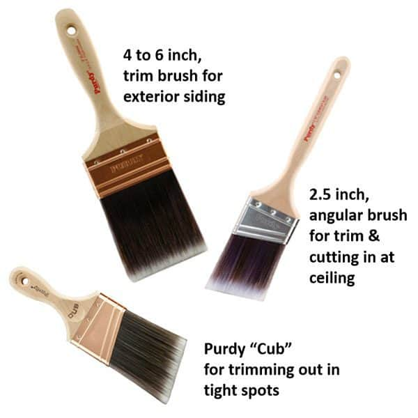 purdy paint brushes are among my favorite painting tools
