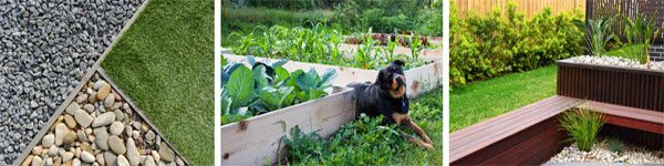 don't forget landscaping ideas that are low maintenance and/or sustainable