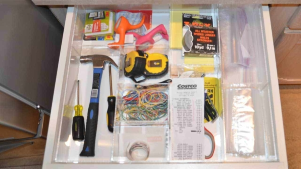 great drawer organization is when everything stays organized forever