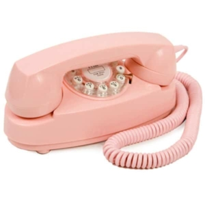 today everyone has smart phones, but you might also like a pink princess phone