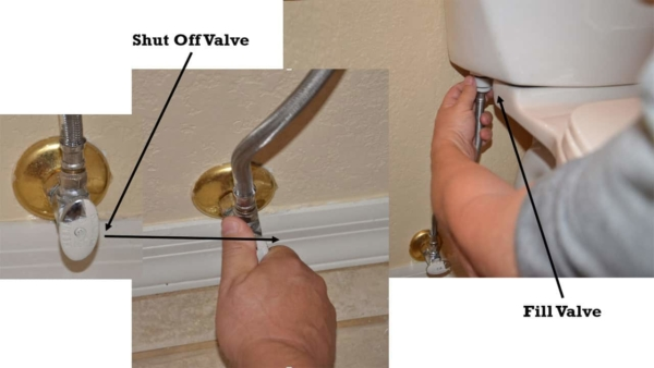 supply lines carry fresh water from the main plumbing system to individual fixtures in the home