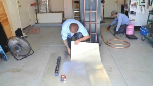 some sheet metal work is involved in any hvac installation