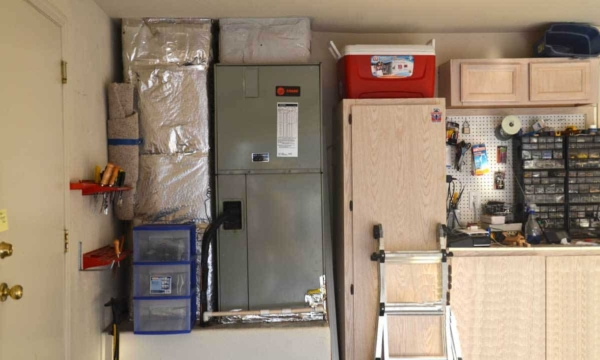we replaced this 20 year HVAC system with another heat pump from the same manufacturer, Trane