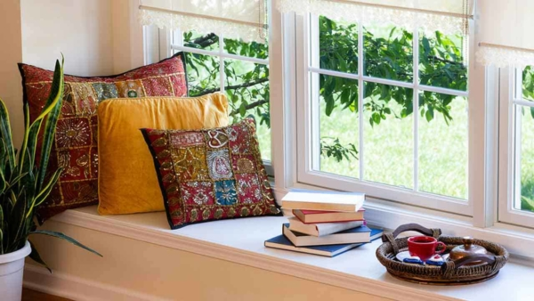 reading nooks need 2 things - a good book & a reading nook where you can sit and relax while reading