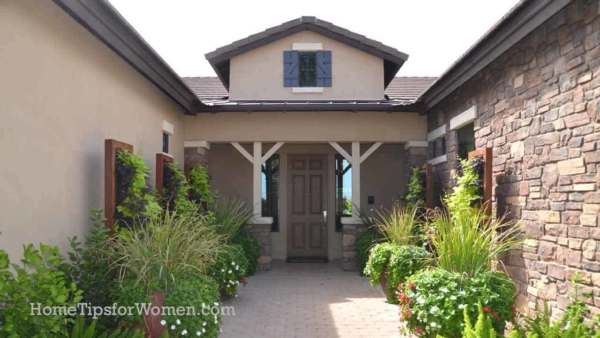window shutters aren't the only solution to giving your home's exterior a personality