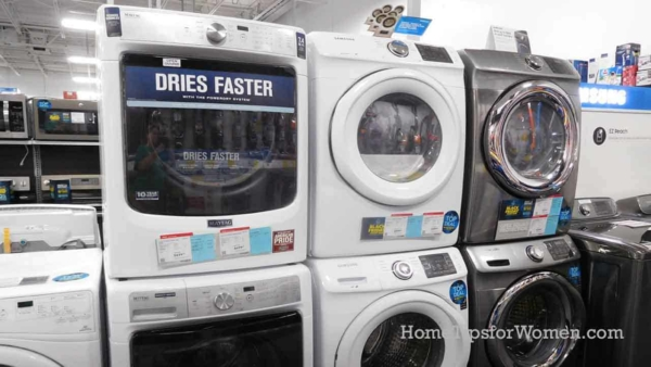 Samsung front loading machines are not part of the washing machine recall