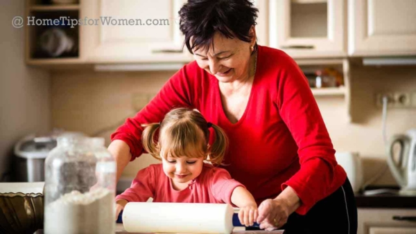 there's no place like home to prepare for the holidays, like baking cookies with little ones