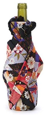 using a furoshiki made from fabric is a great gift wrapping solution