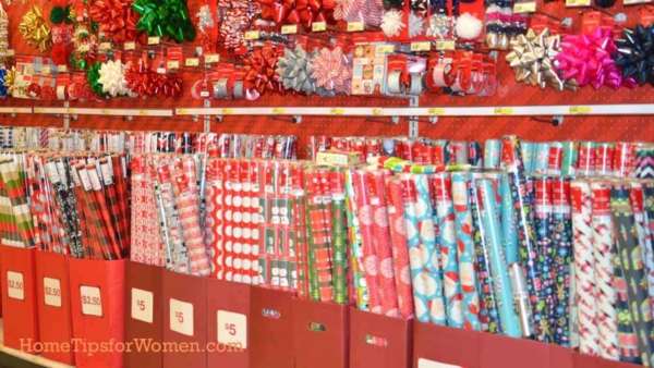 if you buy lots of wrapping paper, you might need a wrapping paper organizer