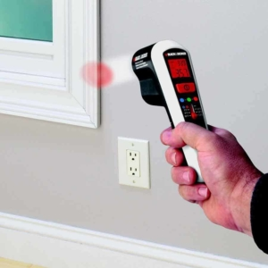 a thermal heat detector like this one from Black & Decker, can help you identify where you need weatherstripping