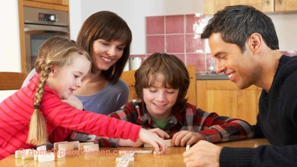 the meaning of home used to be cooking, eating & playing board games together