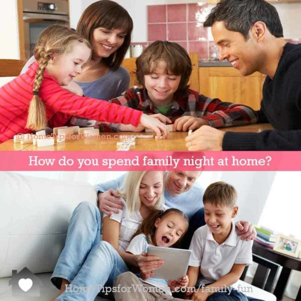 you can find many family game night ideas online, that don't use technology