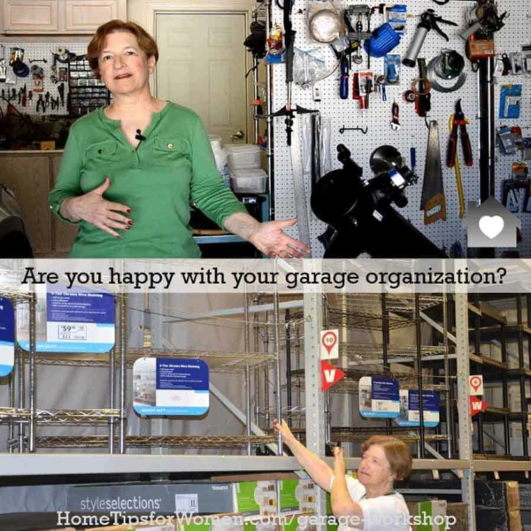 what are your favorite gadgets for organizing yuor garage workshop?