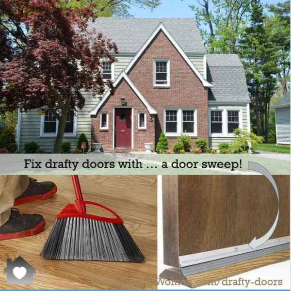 a door sweep is an easy way to make your home more comfortable while saving money