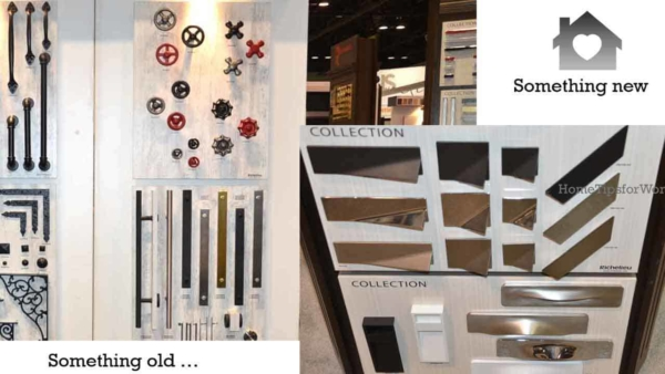 you'll find thousands of cabinet hardware products at any home show, and especially one for kitchen and bath
