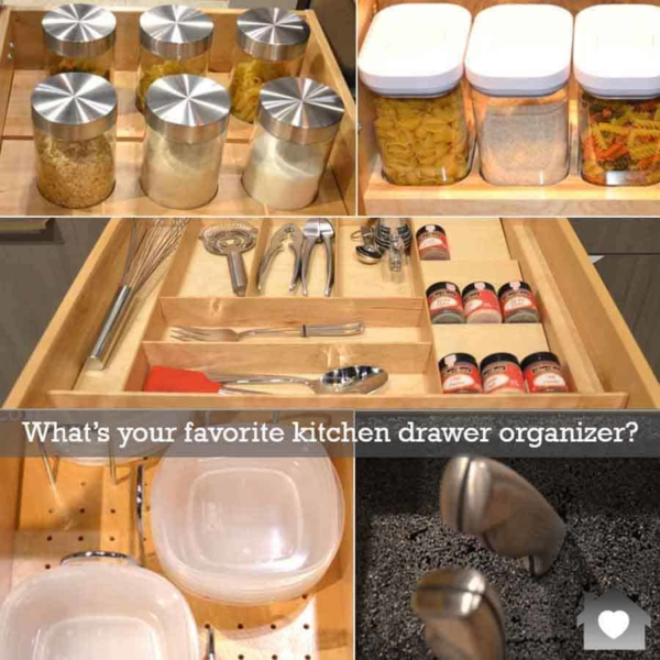 there are hundreds of kitchen drawer organizers to pick from, so find one that's right for your drawer & what you're storing