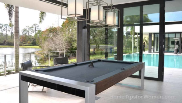 the old basement (this house doesn't have one) man cave reinvented to enjoy the outdoors