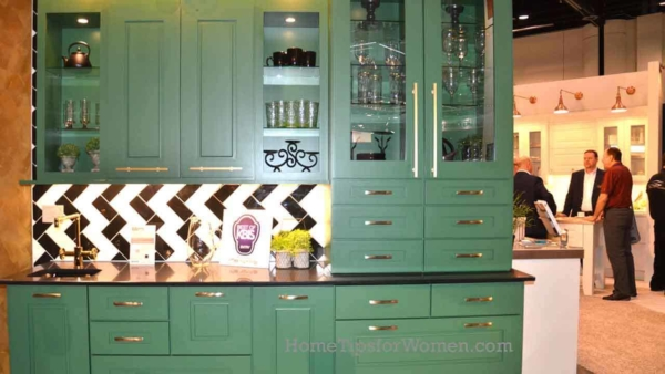 #kitchen-cabinets-painted-dark-green--geometric-backsplash-kbis-2017-orlando-florida-ht4w1280