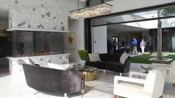 lifestyle homes focus on spaces to enjoy life, and that often includes an incredible fireplace