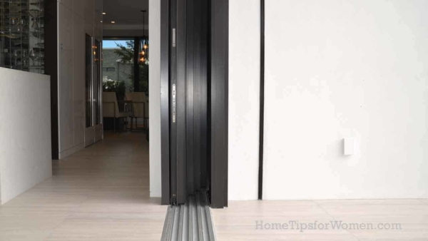 patio doors have turned into glass walls & this one is 40 feet long