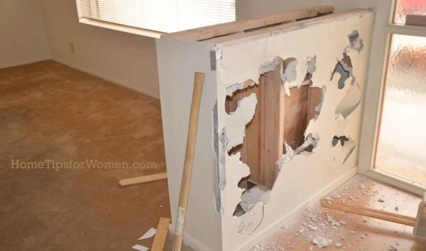 if you want to tackle a renovation project, make sure to do some demo work yourself