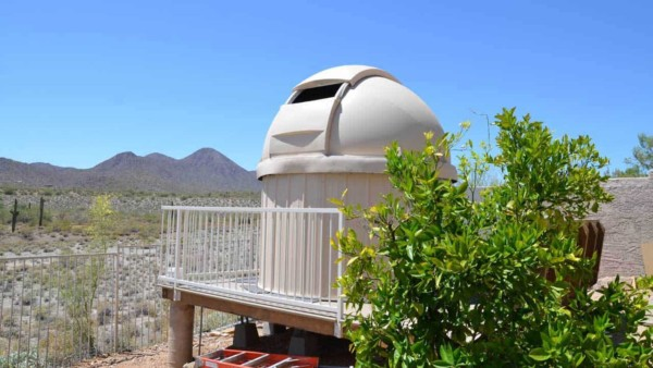 my husband's idea of the perfect backyard is one with an observatory but I'm still collecting & sorting out my backyard ideas